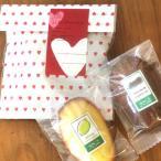 マドレーヌプチギフト〜バレンタインハート〜チョコレート米粉マドレーヌと柑橘フルーツのマドレーヌ(焼き菓子)【義理・友チョコに】