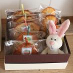 お年賀贈答ギフト〜NICI干支のマスコットマグネット(子年:マウス)と和歌山産フルーツを焼き込んだ焼き菓子ギフトセット(箱入り包装済み)ピンクネズミ/白ねずみ