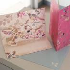 多目的立体カード ESPECIALLY FOR YOU 「木々の中で気ままに楽しむ鳥たち」ポップアップカード【メール便可】