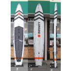 """【試乗中古】INFINITY (インフィニティー)BLAC FISH モデル パフォーマンス レースボード スタンドアップパドルボード [ORANGE] 12'6""""X 25"""" SUP FIN付き"""