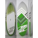 """【極上中古】BOARDWORKS (ボードワークス)WAKE SUPモデル スタンドアップパドルボード [Green] 7'6"""" WAVE SUP フィン付き"""