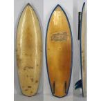 【希少中古】TAROA SURF BOARD(タロア)ヴィンテージ サーフボード[OCHER/BLUE]6