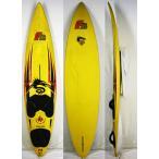 """【中古】F2 ウインドサーフィンサーフボード Shape by PeterThommen [yellow] 8'2"""" Windsurfing"""