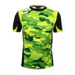 BLK T2 ティーシャツ BYC ブラック×ライムカモ AR008-310 ラグビー