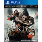 【新品】PS4 SEKIRO:SHADOWS DIE TWICE GAME OF THE YEAR EDITION