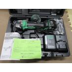 日立(HIKOKI) G3610DA(XP) 36V 100mm コードレスディスクグラインダ 安心のバッテリー2年保証付き