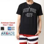 Tシャツ メンズ 立体ロゴ プリント Tシャツ アメカジ カレッジロゴ メンズファッション