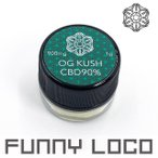 CBDワックス テルペソレート OG KUSH CBD90% 1g