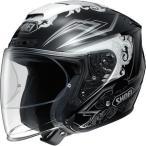 ショッピングFORCE ヘルメット SHOEI J-FORCE4 REFINADO TC-5(WHITE/BLACK) サイズ:XL(61cm)