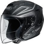 ショッピングFORCE ヘルメット SHOEI J-FORCE4 REFINADO TC-10(SILVER/BLACK) サイズ:L(59cm)
