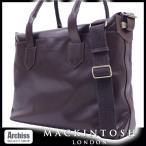 マッキントッシュロンドン MACKINTOSH LONDON ブラウンパンチングレザーBILL AMBERGコラボ2WAYビジネスバッグ(訳あり) B4サイズ対応 S50438