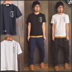 Tシャツ メンズ 半袖 サングラス プリント ワンポイント 着回し 春 夏  白 黒 ブラック ホワイト カジュアル SALE商品