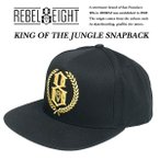 Rebel8 KING OF THE JUNGLE SNAPBACK キング オブ ジャングル スナップバック キャップ レベルエイト