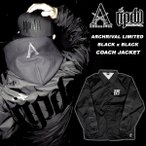 【ripdw】 Archrival x RIPDW Limited BLACK OUT NYLON COACH JACKET 別注 コーチジャケット 黒 x 黒 【リップ デザイン ワークス】