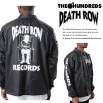 【The Hundreds】 DEATH ROW RECORDS 25TH ANNIVERSARY COACH JACKET  【ザ・ハンドレッツ】