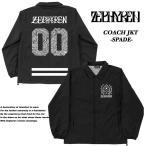 【Zephyren】 COACH JKT -SPADE- BLACK コーチジャケット スペード ブラック 【ゼファレン】