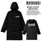 Zephyren RAIN COAT -BEYOND- BLACK レインコート ビヨンド ブラック ゼファレン