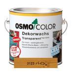 送料無料 自然塗料 オスモカラーウッドワックス 0.75L #3123 パイン 家具・室内壁 木目