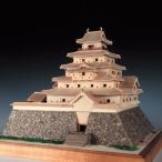 ウッディジョー木製建築模型1/150鶴ヶ城レーザーカット加工