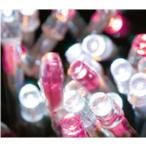 ショッピングクリスマス STE LED24Vチェーンライト(クリアーコード) ピンク/ホワイト 112球10M DDL112CPW 連結専用