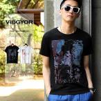 プリント tシャツ メンズ VIBGYOR Tree トップス tシャツ オリジナル半袖 春 新作 メール便対応