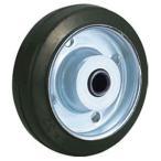 トラスコ TYSシリーズ 車輪のみ ゴム 125径 TYSW-125