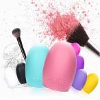ゆうメール 送料無料 化粧 ブラシクリーナー シリコン洗濯板 メイクブラシクリーナー 洗浄ブラシ ピンク