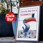 パブミラー ウォールミラー バーミラー 壁掛け鏡 パブサインミラー ギネスビール トォーカン(Guinness アイリッシュ バーグッズ bar 雑貨)