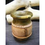 マテ茶 茶器 マテカップ マテ壺 マテツボ マテつぼ グァンパ グアンパ たる型木製パロサント (南米飲料 マテ茶 容器)