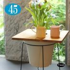 プランターテーブルプランツテーブル φ45cm スクエア 天板のみ チーク 無垢材 Hang Out 木製 おしゃれ 天然木 カフェテーブル・ティーテーブル