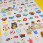 いろはのいろいろ PETA COLLE SEAL /  フレークシール 日記 デコシール ペタコレ 和風 和柄 和菓子