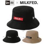 ミルクフェド ニューエラ キャップ MILKFED. NEWERA コラボ BAR HAT 103203051009 帽子 バケットハット レディース ハット 正規品