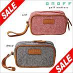 ONOFF オノフ ツイードシリーズ ラウンドポーチ OA2215 [2015年モデル] 特価 [70%OFF] [有賀園ゴルフ]