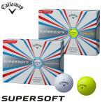 2017年モデル キャロウェイ SUPER SOFT スーパーソフト ゴルフボール 1ダース(12球入り) [日本正規品]