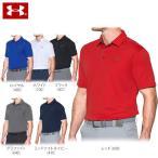アンダーアーマー メンズ HG 半袖 テック ポロシャツ 1290140 ゴルフウェア [2017年春夏モデル] [有賀園ゴルフ]