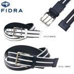 フィドラ メンズ ダブルピンライン ベルト FDA0472 ゴ