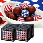 アメリカ お土産 土産 おみやげ アメリカン フラッグボールチョコレート 10箱セット 通販