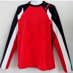 ヨネックス YONEX ユニロングスリーブTシャツ YOB16290(688)クリスタルレッド 男女兼用 長袖 限定品