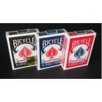 〔トランプ〕BICYCLE(バイスクル) ライダーバック ポーカーサイズ 〔ブラック・レッド・ブルー〕〔3色セット〕