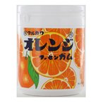 丸川製菓<br> オレンジマーブルガムボトル <br>130g×6個 <br>【送料無料】<br>
