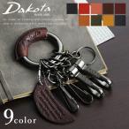 キーホルダー キーリング Dakota BLACK LABEL ダコタ ブラックレーベル ミネルバアクソリオ 黒ニッケル 0637001