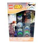 [レゴ ウォッチ]LEGO WATCH 腕時計 StarWars スター・ウォーズ HAN SOLO AND CHEWBACCA ハン・ソロ アンド チューバッカ (8020400) [並行輸入品]