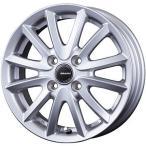 2021年製 スタッドレスタイヤ ホイールセット ブリヂストン ブリザック VRX2 155/65R14 14インチ KOSEI コーセイ クレイシズ VS6 4.5J