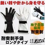 柚子農園様用 特別仕様   作業用手袋 サクセスプランニング   GABA-SPシリーズ 耐突刺タイプ手袋 ロングタイプ (ゆず農家向け)SP-5FY4