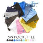GOOD ON [グッド オン ] / S/S CREW NECK POCKET T-SHIRTS / 全9色 (ティーシャツ クルーネック Tシャツ カットソー 半袖) GOST0903
