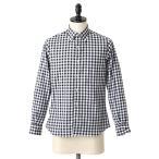 ショッピングINDIVIDUALIZED INDIVIDUALIZED SHIRTS(インディビジュアライズド シャツ) / 別注L/S Standard Fit Big Gingham B.D shirts -MBDM-(ギンガムチェック シャツ)