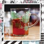 <Tea mate a la carte ChecK ChecK>(Mサイズ) セメントプロデュースデザイン 日本製 耐熱ガラス【CEMENT】