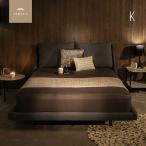 ベッド Linea キングベッド ベッドフレーム bed モダンベッド