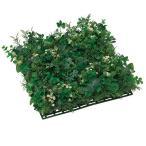 母の日 ギフト 花 光触媒 観葉植物 人工観葉植物 壁掛け 壁面 造花 インテリア グリ-ンミックスマット