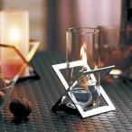 ランプ オイルランプ テーブルランプ インテリア 照明 インテリアランプ ギフト OL-80-155C Stainless クリア